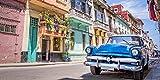 "Infrarotheizung Bildheizung PREMIUM, rahmenlos mit Bild, 900 Watt, 120x60x1,5 cm, Motiv ""Cuba"""