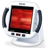 Beurer IL 50 Infrarot-Wärmestrahler, Infrarotlampe zur Behandlung von Erkältungen und Muskelverspannungen