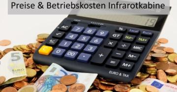 Preise und Kosten Infrarotkabine