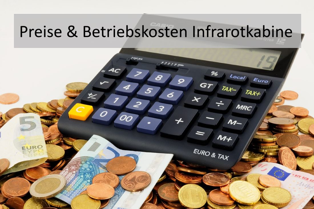Infrarotkabine Preise Anschaffungskosten Strom Infrarot Guide