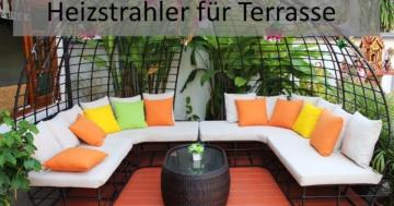 Heizstrahler Terrasse