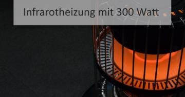 Infrarotheizung mit 300 Watt