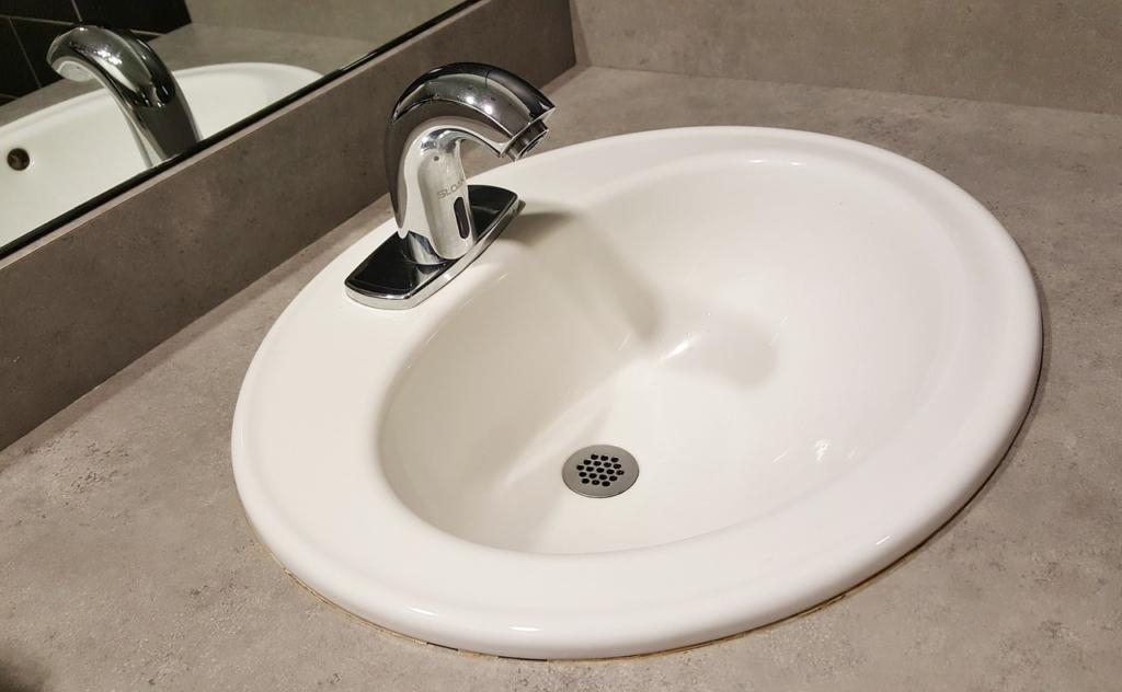 Infrarot-Wasserhahn